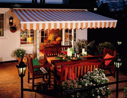 Awnings from C & P Blinds